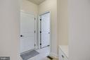 Doors to 3 car garage & laundry room - off kitchen - 42394 MADTURKEY RUN PL, CHANTILLY