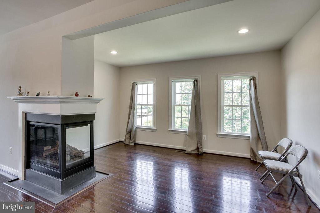 Master BR Sitting Area and gas fireplace - 42394 MADTURKEY RUN PL, CHANTILLY