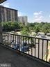 Spacious balcony - 5851 QUANTRELL AVE #407, ALEXANDRIA