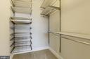 Huge Walk in Closets with built-ins - 2702 LEE HWY #2B, ARLINGTON