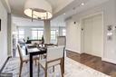 Separate Dining room - 2702 LEE HWY #2B, ARLINGTON