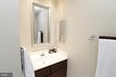Upper level bath - 20456 TAPPAHANNOCK PL, STERLING