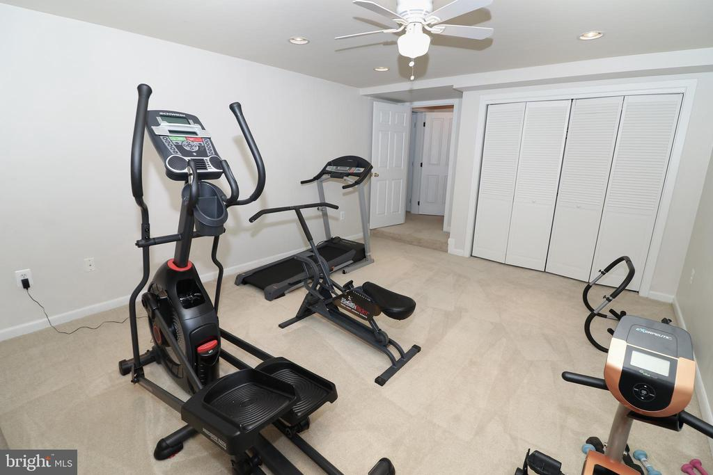 Exercise room - 20456 TAPPAHANNOCK PL, STERLING