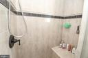 Master shower - 20456 TAPPAHANNOCK PL, STERLING