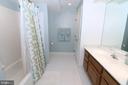Lower level finished bath - 20456 TAPPAHANNOCK PL, STERLING