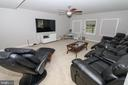 Rec room/Media room - 20456 TAPPAHANNOCK PL, STERLING