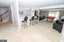 Lower level bar - 20456 TAPPAHANNOCK PL, STERLING