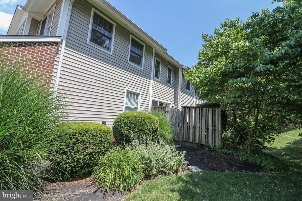 Mature landscaping - 20456 TAPPAHANNOCK PL, STERLING