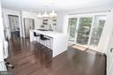 Recently remodeled kitchen w hardwoods - 20456 TAPPAHANNOCK PL, STERLING