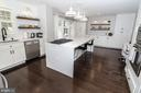 Recently remodeled kitchen w quartz counters - 20456 TAPPAHANNOCK PL, STERLING