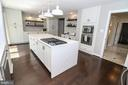 Recently remodeled kitchen with white cabinetry - 20456 TAPPAHANNOCK PL, STERLING