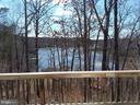 Water views from rear deck - 15012 DOVEY RD, SPOTSYLVANIA