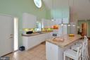 kitchen with Breakfast Bar - 15012 DOVEY RD, SPOTSYLVANIA
