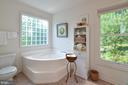 Master bath soaking tub - 15012 DOVEY RD, SPOTSYLVANIA