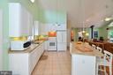 Ceramic tile in Kitchen - 15012 DOVEY RD, SPOTSYLVANIA