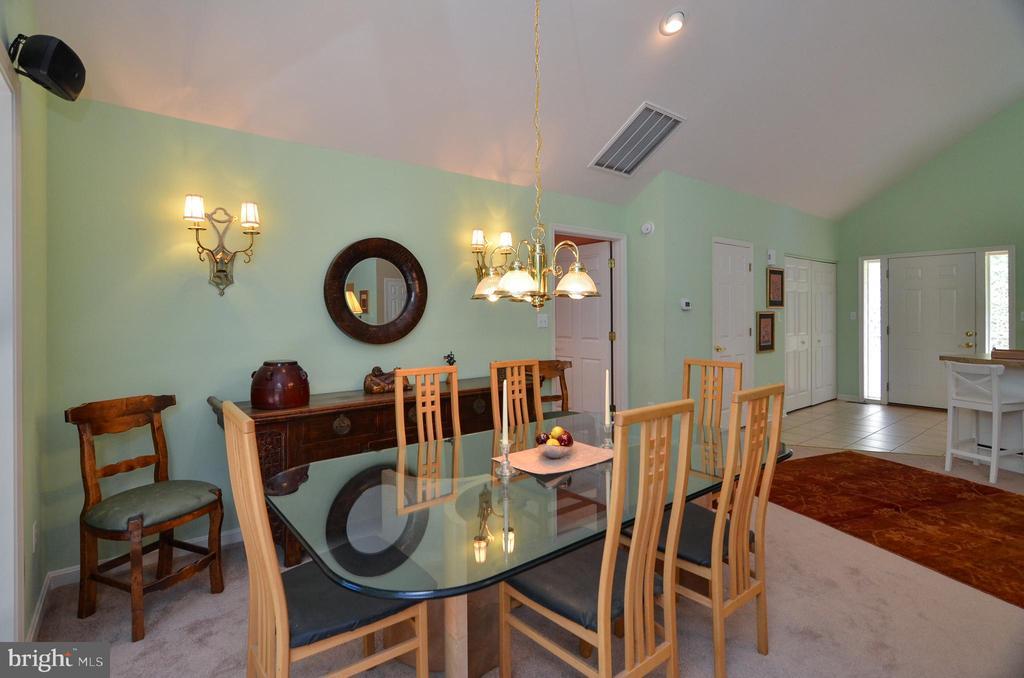 Dining Area - 15012 DOVEY RD, SPOTSYLVANIA