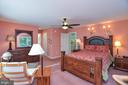 Another view of Master Bedroom - 15012 DOVEY RD, SPOTSYLVANIA