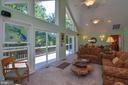 Floor to ceiling windows - 15012 DOVEY RD, SPOTSYLVANIA