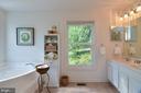 Walk into the master bath - 15012 DOVEY RD, SPOTSYLVANIA