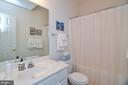 Lower level full bath - 15012 DOVEY RD, SPOTSYLVANIA