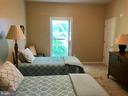 Lower level bedroom with a window view to Lake - 15012 DOVEY RD, SPOTSYLVANIA