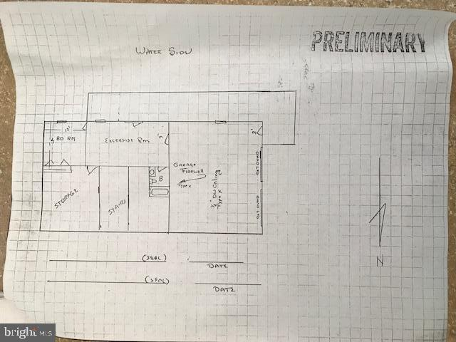 Lower level Sketch - 15012 DOVEY RD, SPOTSYLVANIA