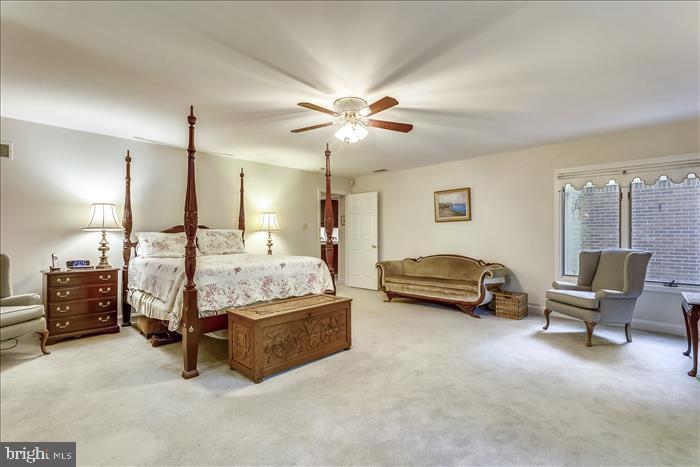 Spacious master bedroom - 5916 HALLOWING DR, LORTON