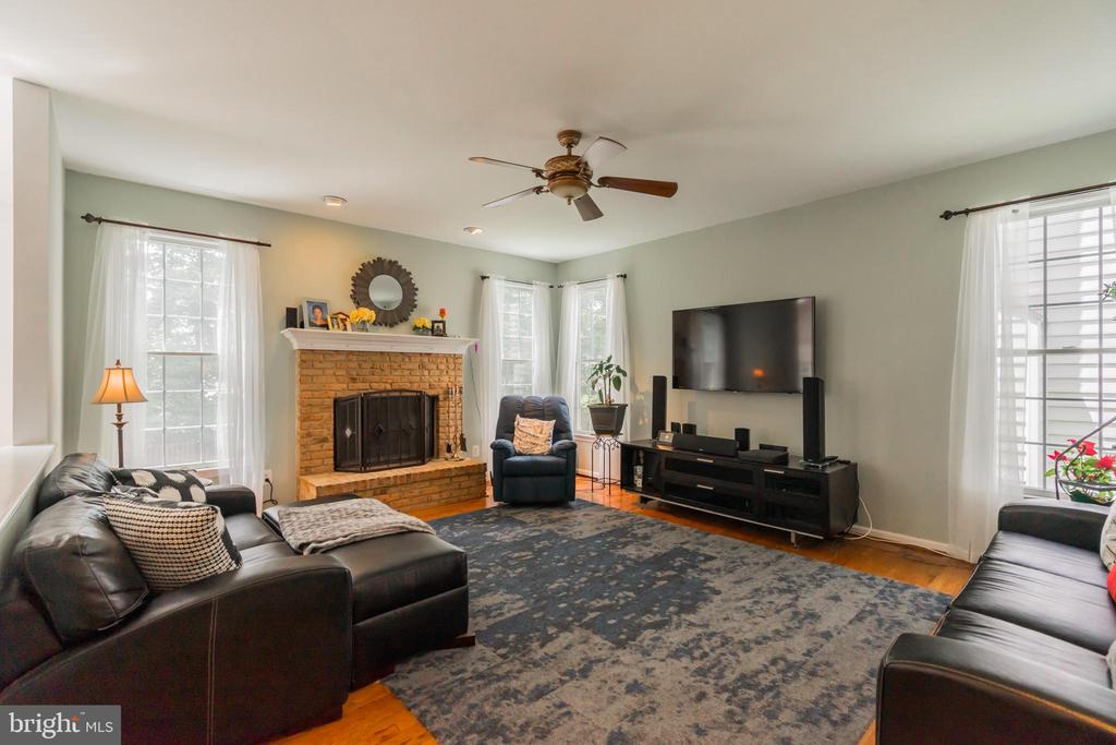 Family Room - 25969 DONOVAN DR, CHANTILLY
