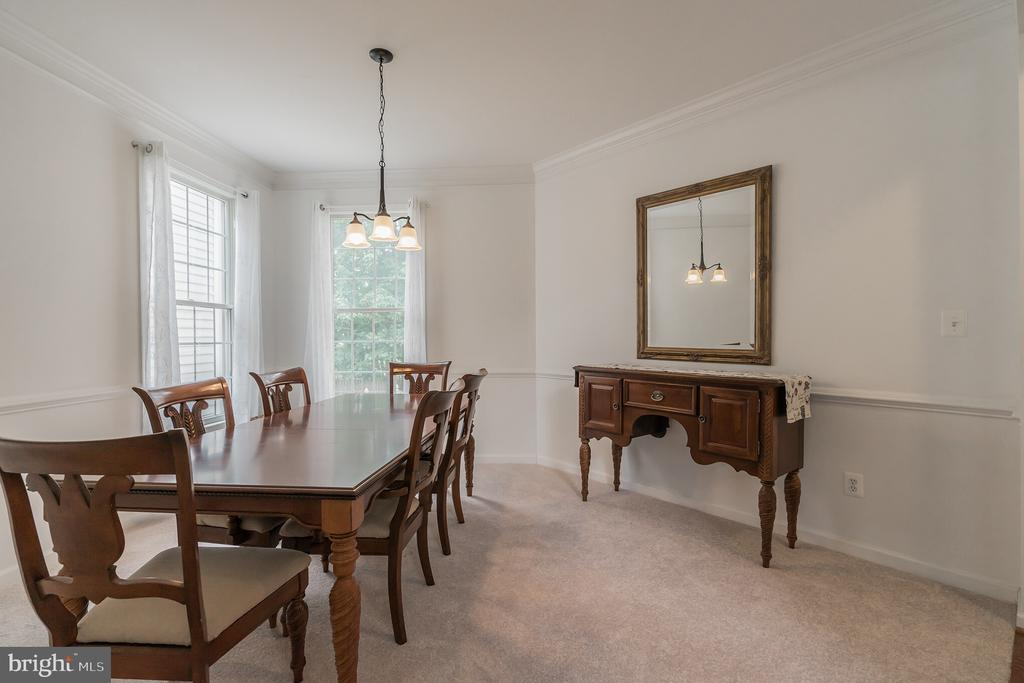 Formal Dining Room - 25969 DONOVAN DR, CHANTILLY