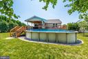 Backyard/Pool - 27 STONEY PARK WAY, THURMONT