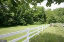 White Vinyl Fence - 8187 PETERS RD, FREDERICK