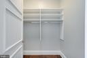Second Walk-in Master Closet - 1881 N NASH ST #PH08, ARLINGTON