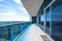 Spacious Terrace - 1881 N NASH ST #PH08, ARLINGTON