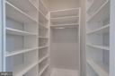 Walk in Closet in Second Bedroom - 1881 N NASH ST #PH08, ARLINGTON