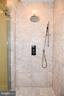 Main level master shower - 120 KINGSLEY RD SW, VIENNA
