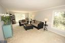 Sunlit Spacious Formal Living Room - 1140 BANDY RUN RD, HERNDON