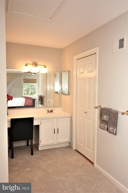 Master Vanity & Walk-in Closet - 1140 BANDY RUN RD, HERNDON
