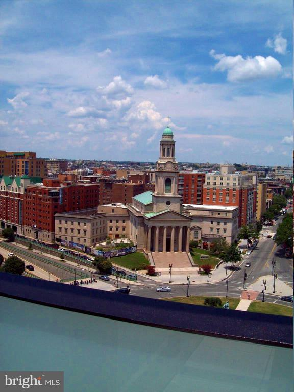 view from roof Logan Circle church - 1133 14TH ST NW #1006, WASHINGTON