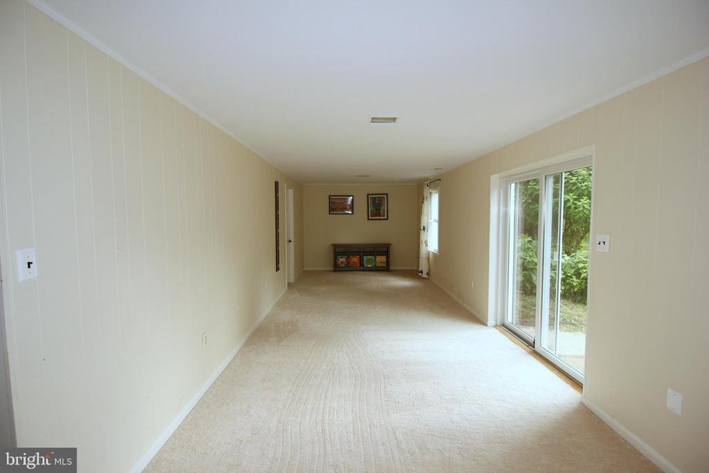 Spacious Walkout Rec Room - 1140 BANDY RUN RD, HERNDON