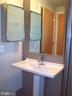 Duravit pedastal sink  medicine cabinet - 1133 14TH ST NW #1006, WASHINGTON