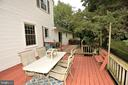 Big Deck for Outdoor Entertainment - 1140 BANDY RUN RD, HERNDON