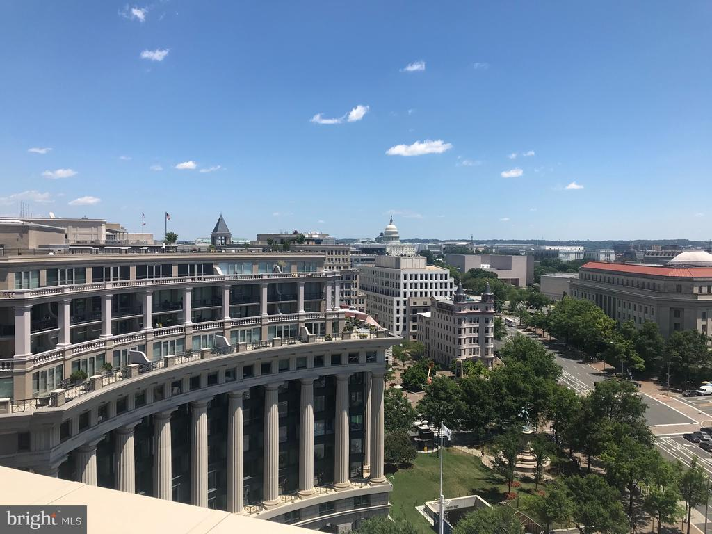 Unobstructed views of the Nations Capitol - 801 PENNSYLVANIA AVE NW #1207, WASHINGTON