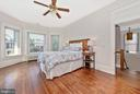 Sunny and spacious light filled master bedroom - 203 ROCKWELL TER, FREDERICK