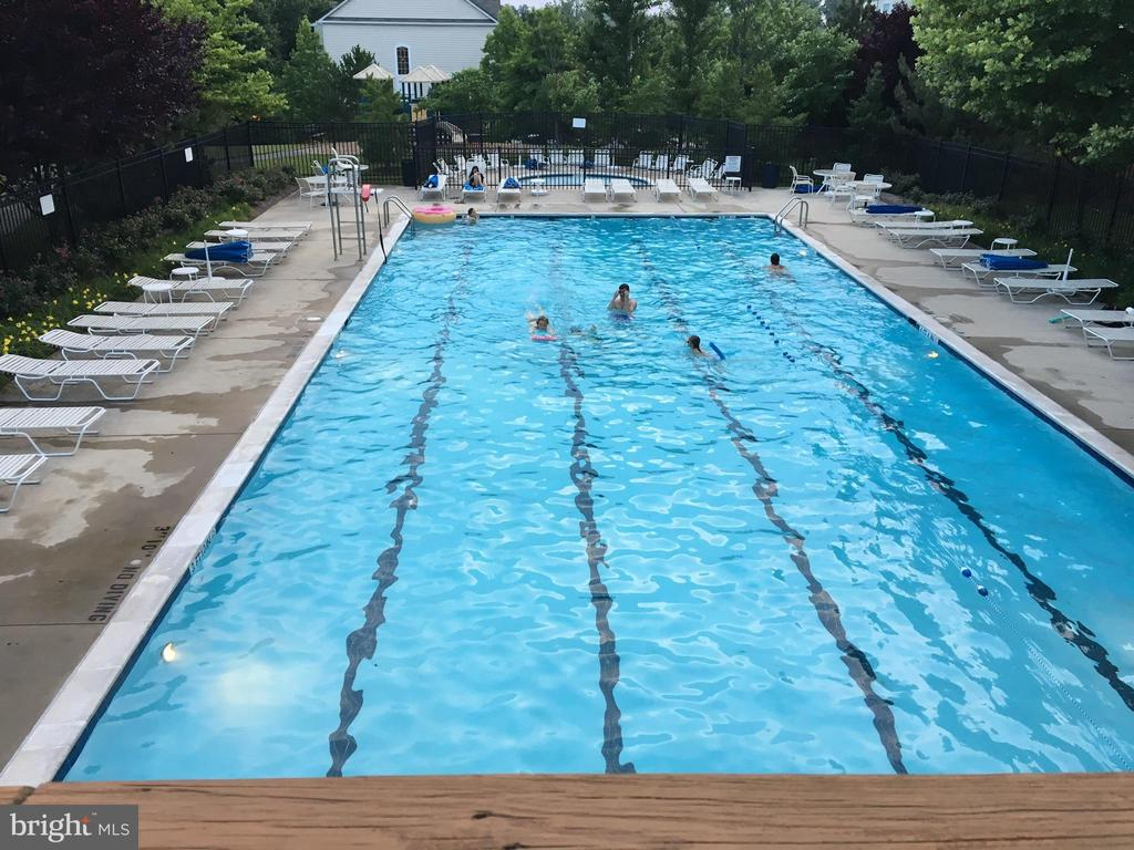 Community Pool behind Clubhouse - 11506 SPERRIN CIR #305, FAIRFAX