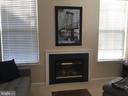 Living Room Fireplace - 11506 SPERRIN CIR #305, FAIRFAX