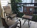 Deck off Dining Room - 11506 SPERRIN CIR #305, FAIRFAX