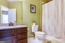 Private bath for bedroom #2 - 20 GENEVIEVE CT, FREDERICKSBURG