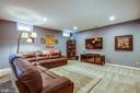 Lower level family room - 20 GENEVIEVE CT, FREDERICKSBURG