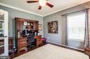 Main floor formal living room or home office - 20 GENEVIEVE CT, FREDERICKSBURG