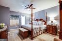 Main floor bedroom - possible in law suite - 20 GENEVIEVE CT, FREDERICKSBURG
